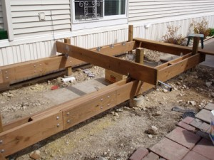 Deck joist construction